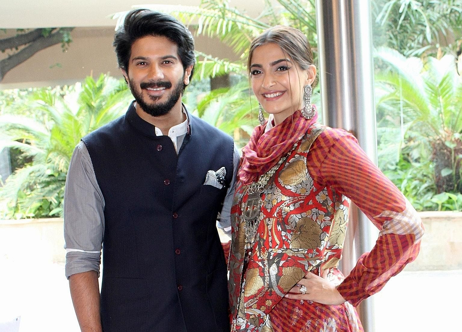 Dulquer Salmaan feels Naked during intimate scenes
