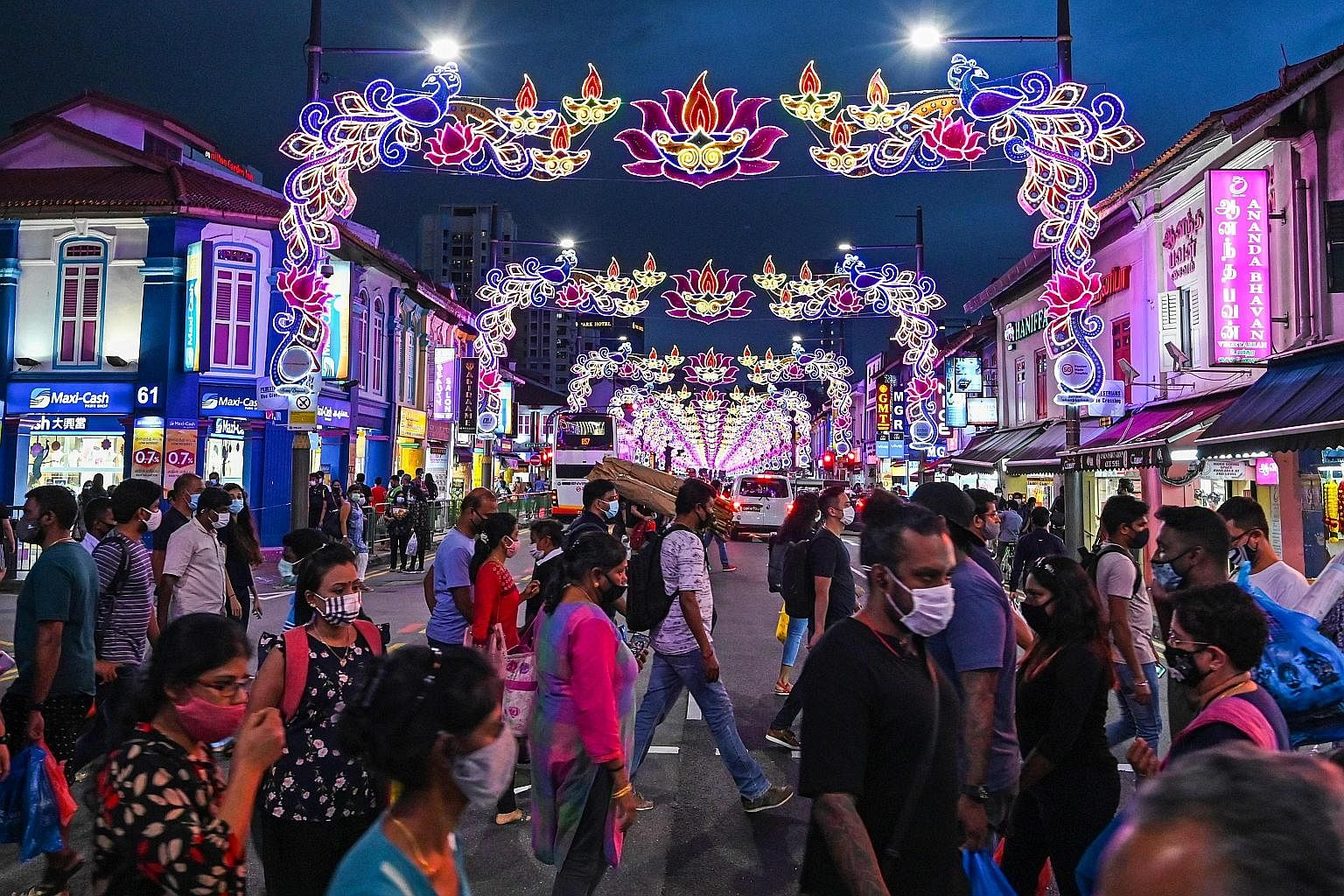 Little India keeps shining in dark times, Singapore News - Tabla