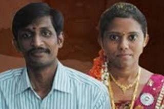 ரவி சைதன்யா - அமனி தம்பதி. படம்: இந்திய ஊடகம்