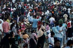 மகாராஷ்டிர மாநிலத்தில் கிருமித்தொற்று மிக வேகமாகப் பரவி வருகிறது. படம்: ராய்ட்டர்ஸ்