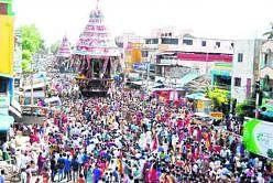சிதம்பரம் நடராஜர் கோவில் தேரோட்டம்