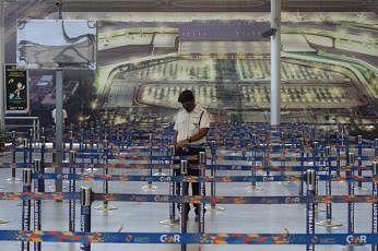 ஹைதராபாத் அனைத்துலக விமான நிலையம். படம்: ஏஎப்பி