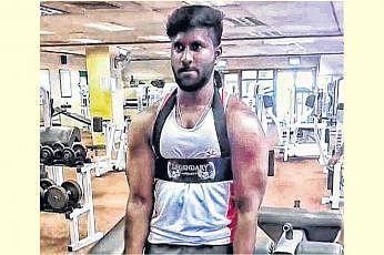 கிஷோர் ரவிசந்திரன், 23, உடற்பயிற்சி ஆர்வலர்