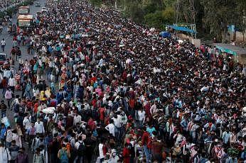 2100ஆம் ஆண்டில் இந்தியாவின் மக்கள் தொகை அதன் அதிகபட்சத்தில் 68.1 விழுக்காடாக இருக்கும் என்றும் ஆராய்ச்சியாளர்கள் தெரிவித்துள்ளனர். படம்: ஊடகம்