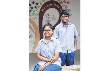 பிங் யி உயர்நிலைப் பள்ளியின் ஹாஜா மைதீன் அசிமதுல் ஜாஃப்ரியா, மகிபாலன்