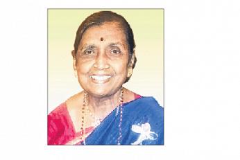 பழம்பெரும் கலைஞர் 'தங்கக் குரல்' சுசிலா கிருஷ்ணசாமி காலமானார்