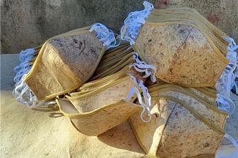 இரண்டு மாதங்களில் மக்கும் வாழை நார் முகக்கவசங்கள் பிலிப்பீன்சில் தயாரிக்கப்பட்டுள்ளது. படம்: சமூக ஊடகம்