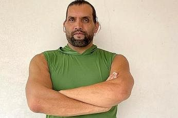 The Great Khali is also a cook