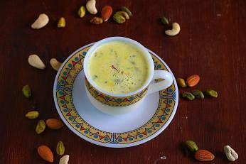 Masala milk with health benefits